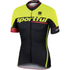 Sportful SC Team Short Sleeve Jersey - Black/Yellow: Image 1