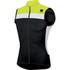 Sportful Pista Sleeveless Jersey - Black/Yellow/White: Image 1