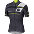 Sportful Gruppetto Pro Team Short Sleeve Jersey - Grey/Black/Yellow: Image 1