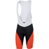 Sportful Fiandre Light NoRain Bib Shorts - Black/Red: Image 1