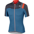 Sportful BodyFit Pro Team Short Sleeve Jersey - Blue/Grey/Red: Image 1