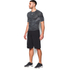 Under Armour Men's HeatGear CoolSwitch Compression Short Sleeve Shirt - Grey: Image 4