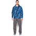 Under Armour Men's Storm Rival Fleece Printed Hoody - Blue: Image 3