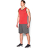 Under Armour Men's Tech Tank Top - Red/Black: Image 4