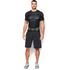 Under Armour Men's Transform Yourself Batman Compression Short Sleeve Shirt - Black: Image 3