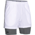 Under Armour Men's Mirage 2 in 1 Training Shorts - White: Image 1