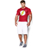 Under Armour Men's Flash Compression Short Sleeved T-Shirt - Red: Image 3
