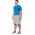 Under Armour Men's HeatGear CoolSwitch Compression Short Sleeve Shirt - Electric Blue: Image 4