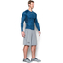 Under Armour Men's HeatGear Armour Long Sleeve Compression Shirt - Black/Blue: Image 4