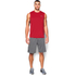 Under Armour Men's Tech Sleeveless T-Shirt - Red: Image 3