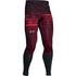 Under Armour Men's Launch Printed Compression Leggings - Red: Image 1