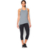 Under Armour Women's Studio Flowy Tech Tank Top - Grey: Image 3