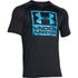 Under Armour Men's Tech Boxed Logo T-Shirt - Black: Image 1