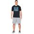 Under Armour Men's Tech Boxed Logo T-Shirt - Black: Image 3