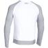 Under Armour Men's Tri-Blend Fleece Crew Sweatshirt - White: Image 2