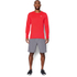 Under Armour Men's Streaker Long Sleeve T-Shirt - Red: Image 3