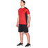 Under Armour Men's Raid Short Sleeve T-Shirt - Red/Black: Image 4