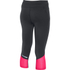 Under Armour Women's Fast Forward 2.0 Run Capri - Black/Pink: Image 2