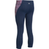 Under Armour Women's Mirror Printed Crop Leggings - Navy Blue: Image 2