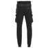 4Bidden Men's Guard Slim Fit Sweatpants - Black: Image 2