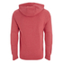 Smith & Jones Men's Pseudo Print Hoody - True Red Marl: Image 2