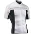Northwave Evolution Full Zip Short Sleeve Jersey - White/Black: Image 1
