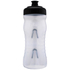 Fabric Cageless Water Bottle (600ml) - Clear/Black: Image 1