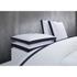 Calvin Klein Canyon Indigo Duvet Cover - White: Image 1