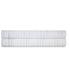 Calvin Klein Claytonia Dash Fitted Sheet - White: Image 1