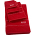 Hugo BOSS Plain Towel Range - Poppy: Image 1