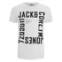 Jack & Jones Men's Core Wall T-Shirt - White: Image 1