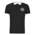 Jack & Jones Men's Core Flat Lock Polo Shirt - Black: Image 1