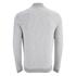 Jack & Jones Men's Originals Lock Baseball Zip Through Sweatshirt - Light Grey Marl: Image 2