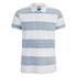 Jack & Jones Men's Originals Micks Polo Shirt - Mykonos Blue/White: Image 1