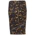 McQ Alexander McQueen Women's Zip Contour Skirt - Tortoises: Image 2