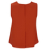 McQ Alexander McQueen Women's Volume Top - Red: Image 2