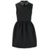 McQ Alexander McQueen Women's Studded Collar Party Dress - Black: Image 1