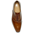 PS by Paul Smith Men's Starling Leather Oxford Shoes - Tan Hobar High Shine: Image 3