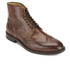 H Shoes by Hudson Men's Greenham Leather Brogue Lace Up Boots - Cognac: Image 2