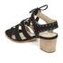 Dune Women's Ivanna Nubuck Strappy Heeled Sandals - Black: Image 4