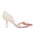 Dune Women's Cindee Leather Court Shoes - Rose Gold: Image 1