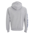 Soul Cal Men's Sleeve Print Logo Zip Through Hoody - Grey Marl: Image 2