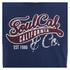 Soul Cal Men's Cracked Print T-Shirt - Navy: Image 3