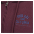 Soul Cal Men's Sleeve Print Logo Zip Through Hoody - Tawny Port: Image 3