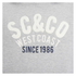 Soul Cal Men's SC&CO Logo Hoody - Grey Marl: Image 3