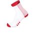 Santini Two Medium Profile Socks - Red: Image 1