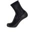 Santini Flag High Profile Coolmax Socks - Black: Image 1