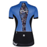 Santini Gold Women's Aero Short Sleeve Jersey - Blue: Image 2