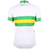 Santini Australian National Team 16 Short Sleeve Jersey - White: Image 2