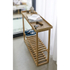 Wireworks Hello Storage Console Table - Oak: Image 4
